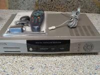 Panasonic TU-DSB 30 Sky digi-box complete with a TV Link adaptor.