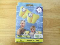 Perfectly Happy Armbands 2 -6 Years ***AS NEW, STILL IN BOX***
