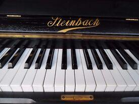 upright piano by steinbach