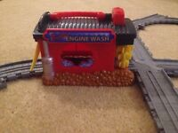Thomas Take and Play Sodor Engine Wash Playset