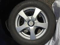 4 Winter tires and rims fits Mazda3GS