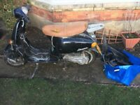 vespa 50cc spare or repair