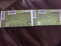 2 Runrig Tickets for Friday 17th