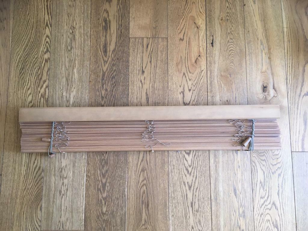 Oak Wooden Blinds 115cm Wide In Rushmere St Andrew Suffolk Gumtree