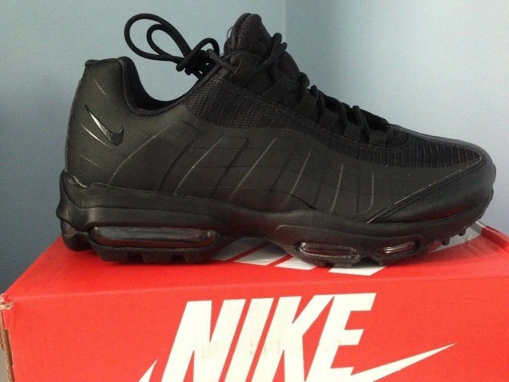 premium selection 22d55 e71fb Nike air max 95 essential ultra triple black | in Edmonton, London ...