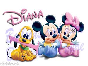 Cialda per primo compleanno baby minnie topolino pluto for Immagini pluto baby