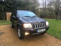 2004 JEEP GRAND CHEROKEE 2.7 crd limited. 2019 mot