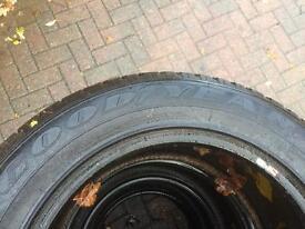 Mitsibishi l200 goodyear tyres 255/60r 18 x4