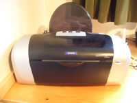 *FREE* EPSON STYLUS C66 PRINTER - FOR ENTHUSIAST - GOOD BUT NOT WORKING AT MO - WASTE INKPAD PROBLEM