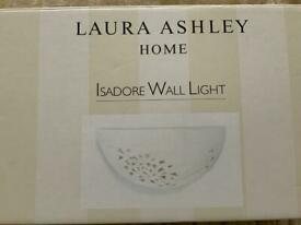 Very pretty Wall light (Laura Ashley) ***BRAND NEW, never used****