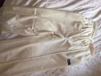 Cricket whites - trousers by Gunn & Moore **Used only once**