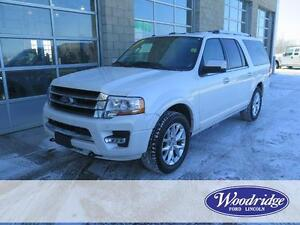 2016 Ford Expedition Max Limited 3.5L V6, LEATHER, NAV, TOW PKG