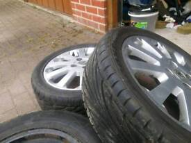 Astra mk4 16 inc alloys with new thres