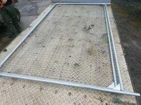 Two brand new heras fencing panels farm livestock tractor