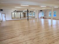 200 square metres of beautifully finished studio hall for hire