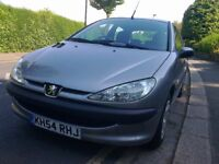 Peugeot 206 1.4 S, 2004/54 Reg, 61,000 Miles Only, M.O.T May 2019,