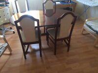 Wardrobe, sofa and dinning table