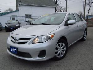 2011 Toyota Corolla CE WITH CONVENIENCE PACKAGE