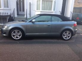 Here's my clean Audi A3 cab 18t reluctant to sell but family expanding