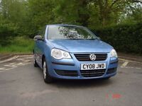 Cheapest 2008 VW POLO 1.2,MOT March 2017,New Clutch,0 previous owners***