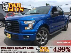 2015 Ford F-150 SPORT| NAVIGATION| LOW KMS!| 2.7L ECO RWD