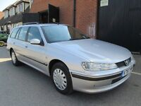 PEUGEOT 406 ESTATE SILVER DIESEL VERY CLEAN Part exchange available / Credit & Debit cards accepted