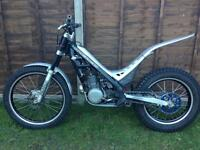 Sherco 250 trials bike