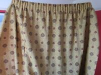 Large lined John Lewis curtains