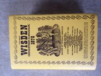 Wisdon Almanack 1976 with new dust cover .
