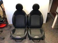 Half Leather Mini Seats - R56 Mini One, Cooper, Cooper S