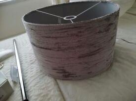 Grey lampshade (new)