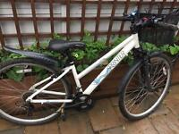 "Ladies 16"" Sprinter hybrid bike bicycle inc lights & basket. Delivery & D lock available"
