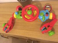 ELC toy steering wheel