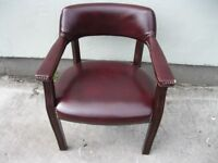 Lovely Leather Chairs For Sale (x6 Available £150 for the lot) Perfect For Pub Or Man Cave!
