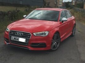2014 64reg AUDI S3 TFSI QUATTRO AUTO S TRONIC 4dr SALOON... NOT rs3 a3 golf r gti m135i rs4 st3 m3