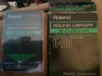 (Rare)Roland data rom