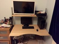 Office/Home Table with or without Office Chair - Great condition - For Sale