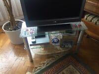 Glass TV Display Stand £25 ono