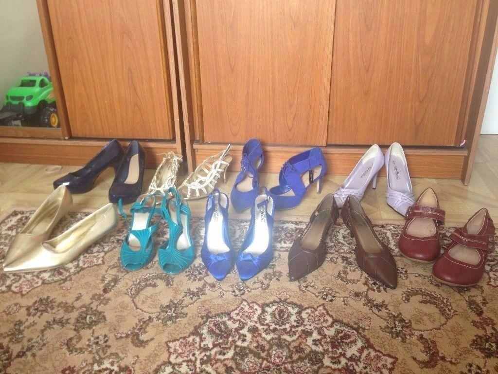 mix bundles of heels