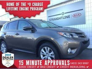 2013 Toyota RAV4 Limited *LEATHER, BACK UP CAM, SUNROOF*