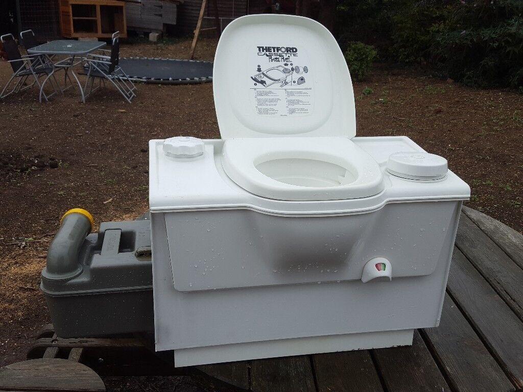 Thetford Cassette Toilet : Thetford cassette toilet camper caravan motorhome in boston