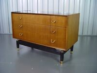Retro G Plan Chest of drawers Vintage Furniture
