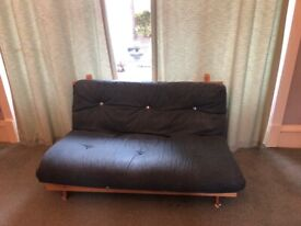 2-seater Futon sofa bed