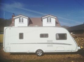 Swift challenger 540 2007 fixed bed 4 berth
