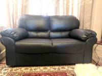 2 seater faux leather sofa for sale