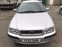 2001 Volvo V40 estate, starts and drives very well, 1 years MOT (runs out October 2017), very clean