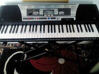 yamaha psr.350 electric keyboard plus stand