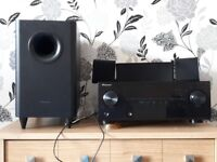 Pioneer 5.1 surround sound system amazing sound my mum calls it a weapon lol