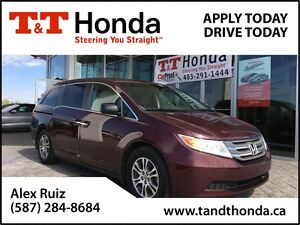 2013 Honda Odyssey EX-L w/RES *New Tires, Local Van, Bluetooth*