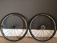 Mavic Ksyrium Equipe S Wheelset 2015 with GP 4000s II Tyres [Shimano 105 Cassette] Bike | Wheels